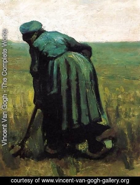 Vincent Van Gogh - Peasant Woman Digging III