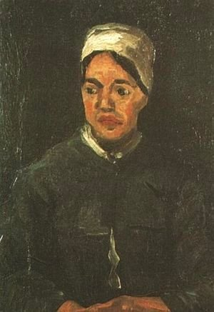 Vincent Van Gogh - Peasant Woman Seated (Half Figure)