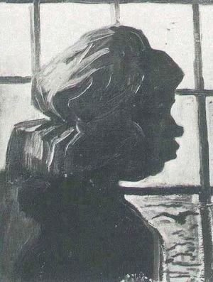 Vincent Van Gogh - Peasant Woman Seen Against The Window