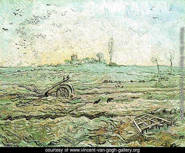 The Plough And The Harrow (after Millet)