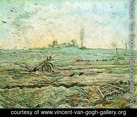 Vincent Van Gogh - The Plough And The Harrow (after Millet)