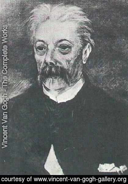 Portrait Of A Man With A Moustache