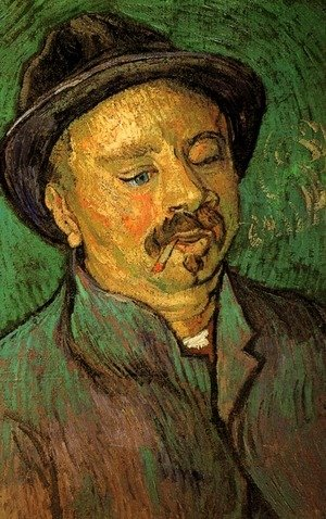 Vincent Van Gogh - Portrait Of A One Eyed Man