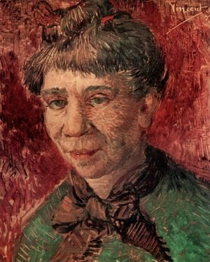 Vincent Van Gogh - Portrait Of A Woman (Madame Tanguy?)