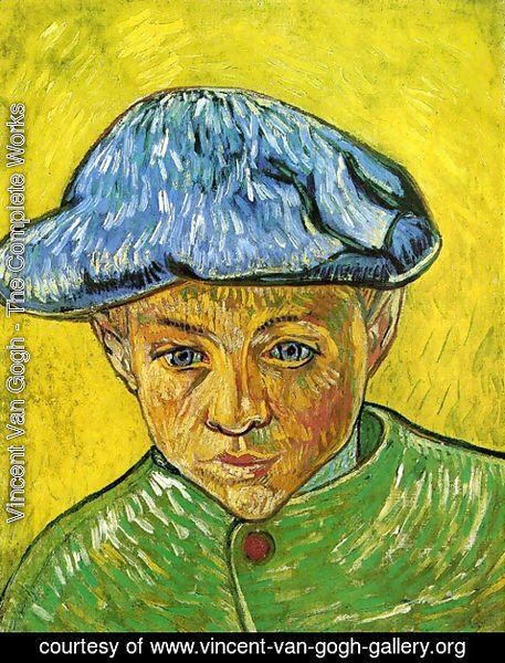 Vincent Van Gogh - Portrait Of Camille Roulin
