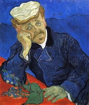 Vincent Van Gogh - Portrait Of Doctor Gachet