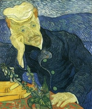 Vincent Van Gogh - Portrait Of Doctor Gachet II