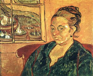 Vincent Van Gogh - Portrait Of Madame Augustine Roulin