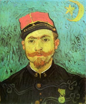 Portrait Of Milliet Second Lieutenant Of The Zouaves