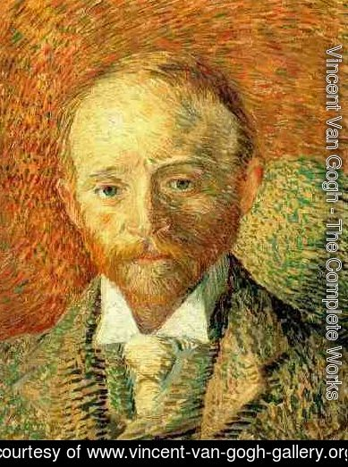 Vincent Van Gogh - Portrait Of The Art Dealer Alexander Reid
