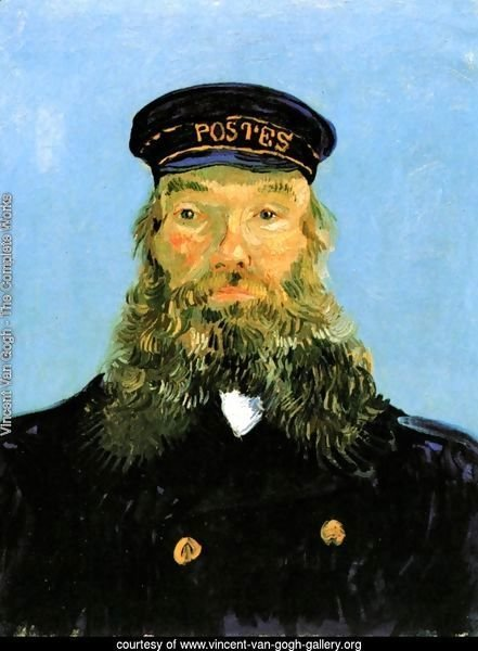 Portrait Of The Postman Joseph Roulin II