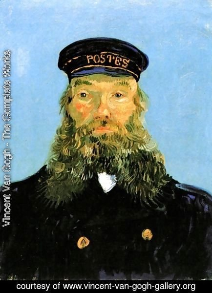 Vincent Van Gogh - Portrait Of The Postman Joseph Roulin II