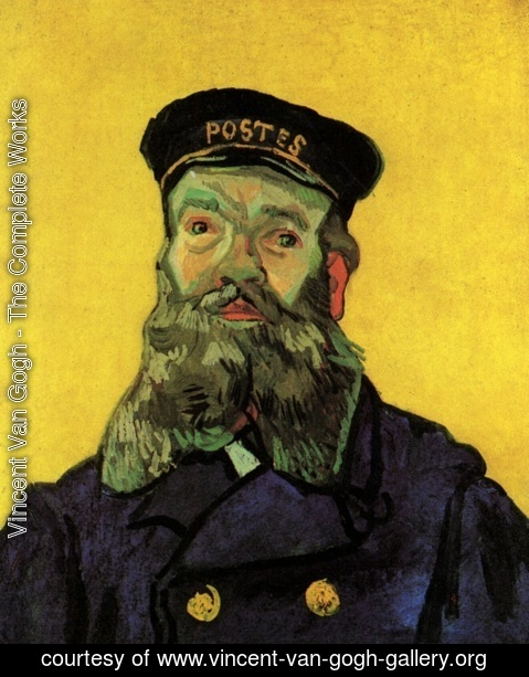 Vincent Van Gogh - Portrait Of The Postman Joseph Roulin III