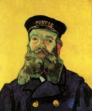 Portrait Of The Postman Joseph Roulin III