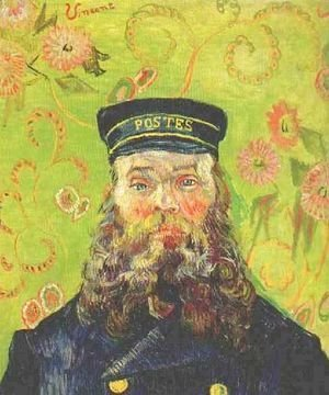 Vincent Van Gogh - Portrait Of The Postman Joseph Roulin IV