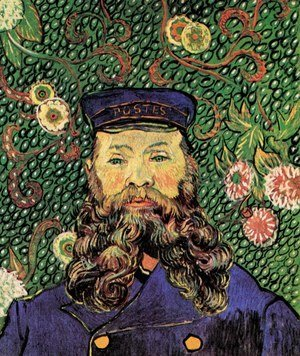 Vincent Van Gogh - Portrait Of The Postman Joseph Roulin V
