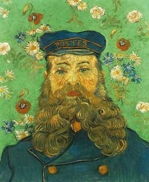 Vincent Van Gogh - Portrait Of The Postman Joseph Roulin VI