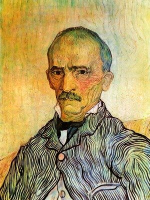 Vincent Van Gogh - Portrait Of Trabuc An Attendant At Saint Paul Hospital