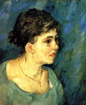 Vincent Van Gogh - Portrait Of Woman In Blue