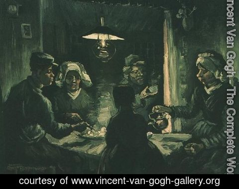 Vincent Van Gogh - Potato Eaters The II