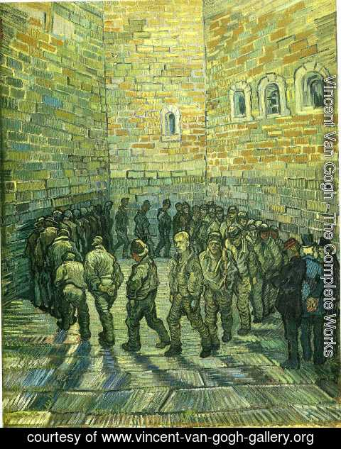 Vincent Van Gogh - Prisoners Exercising (after Dore)