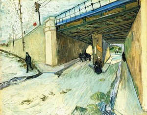 Vincent Van Gogh - The Railway Bridge Over Avenue Montmajour Arles