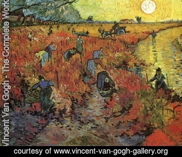 Vincent Van Gogh - The Red Vineyard
