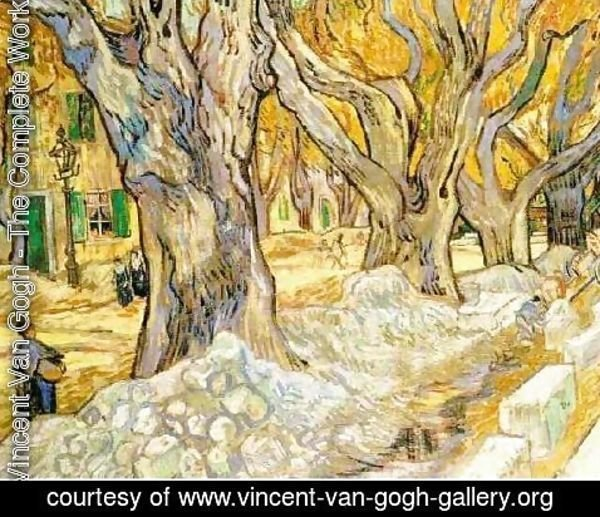 Vincent Van Gogh - The Road Menders
