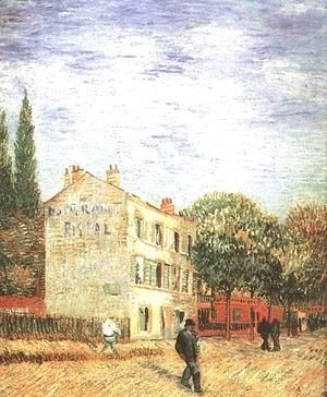 Vincent Van Gogh - Road At Saint Remy With Female Figure A