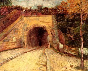 Vincent Van Gogh - Roadway With Underpass (The Viaduct)