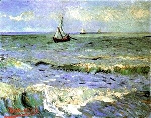 Vincent Van Gogh - Seascape At Saintes Maries II