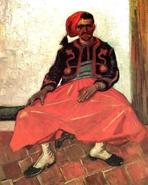 Vincent Van Gogh - The Seated Zouave