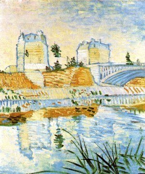 Vincent Van Gogh - The Seine With The Pont De Clichy