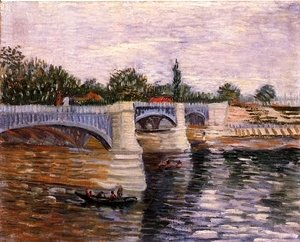 Vincent Van Gogh - The Seine With The Pont De La Grande Jette