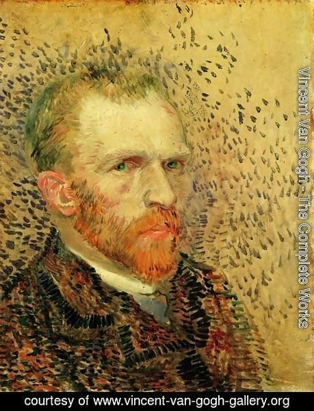 Vincent Van Gogh - Self Portrait VII