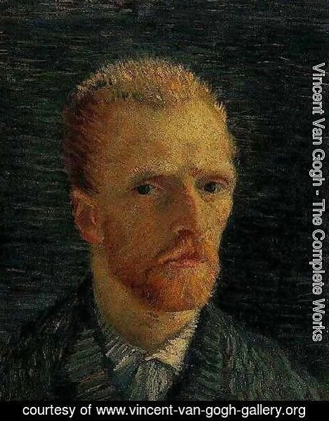 Vincent Van Gogh - Self Portrait VIII