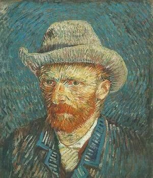 Vincent Van Gogh - Self Portrait With Grey Felt Hat III