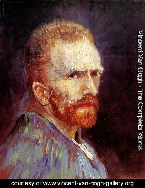 Vincent Van Gogh - Self Portrait XI