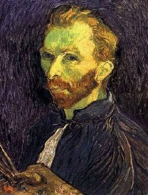 Vincent Van Gogh - Self Portrait XIII