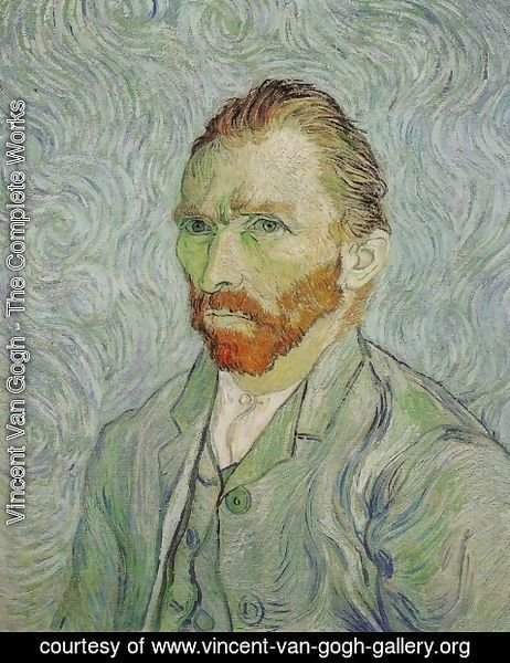 Vincent Van Gogh - Self Portrait XV