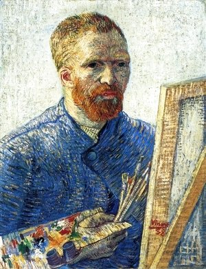 Vincent Van Gogh - Self Portrait In Front Of The Easel