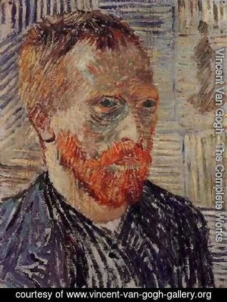 Vincent Van Gogh - Self Portrait With A Japanese Print