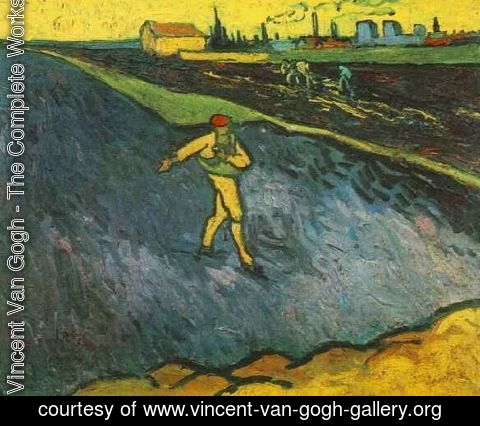 Vincent Van Gogh - The Outskirts Of Arles In The Background
