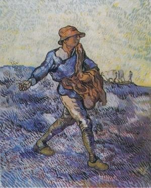 Vincent Van Gogh - Sower The (after Millet)