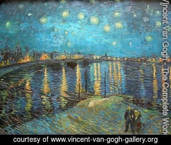 Starry night over the rhone essay