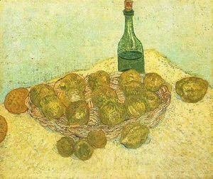 Vincent Van Gogh - Bottle Lemons And Oranges
