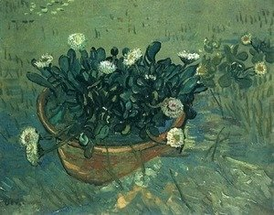 Vincent Van Gogh - Bowl With Daisies