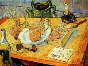 Vincent Van Gogh - Drawing Board Pipe Onions And Sealing Wax