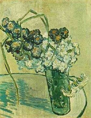 Vincent Van Gogh - Glass With Carnations