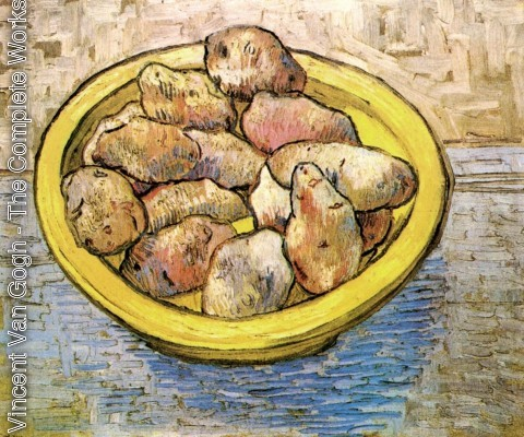 Vincent Van Gogh - Potatoes In A Yellow Dish